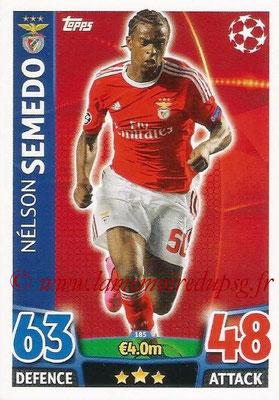 2015-16 - Topps UEFA Champions League Match Attax - N° 185 - Nelson SEMEDO (SL Benfica)