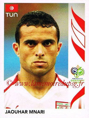 2006 - Panini FIFA World Cup Germany Stickers - N° 581 - Jaouhar MNARI (Tunisie)