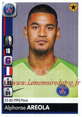 2018-19 - Panini Ligue 1 Stickers - N° 352 - Alphonse AREOLA (Paris Saint-Germain)