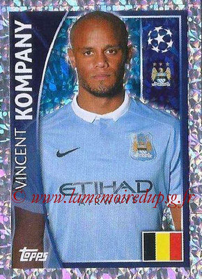 2015-16 - Topps UEFA Champions League Stickers - N° 251 - Vincent KOMPANY (Manchester City FC)