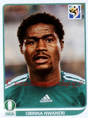 2010 - Panini FIFA World Cup South Africa Stickers - N° 130 - Obinna NWANERI (Nigeria)