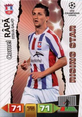 2011-12 - Panini Champions League Cards - N° 204 - Cornel RAPA (FC Otelul Galati) (Rising Star)