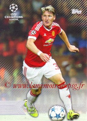 2015-16 - Topps UEFA Champions League Showcase Soccer - N° 036 - Bastian SCHWEINSTEIGER (Manchester United FC)