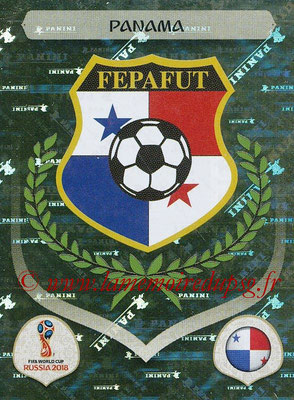 2018 - Panini FIFA World Cup Russia Stickers - N° 532 - Ecusson Panama