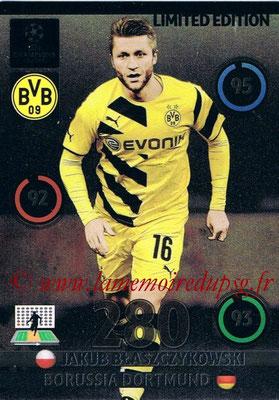 2014-15 - Adrenalyn XL champions League Update edition N° LEU-JB - Jakub BLASZCZYKOWSKI (Borussia Dortmund) (Limited Edition)