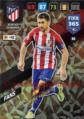 2017-18 - Panini FIFA 365 Cards - N° 085 - GABI (Atletico Madrid) (Fans' Favourite)