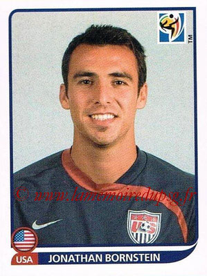 2010 - Panini FIFA World Cup South Africa Stickers - N° 207 - Jonathan BORNSTEIN (États Unis)