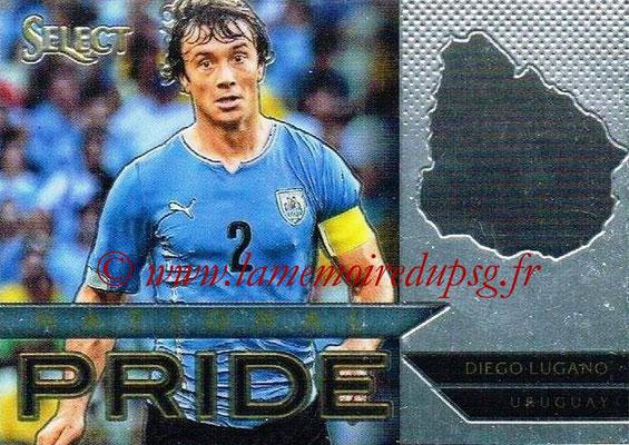N° NP41 - Diego LUGANO (2011-13, PSG > 2015, Uruguay) (National Pride)