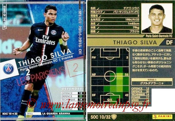 N° SOC10 - Thiago SILVA (Star of the Club)