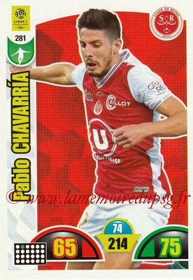 2018-19 - Panini Adrenalyn XL Ligue 1 - N° 281 - Pablo CHAVARRIA (Reims)