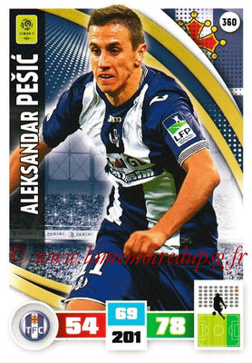 2016-17 - Panini Adrenalyn XL Ligue 1 - N° 360 - Aleksandar PESIC (Toulouse)