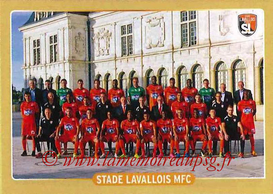 2015-16 - Panini Ligue 1 Stickers - N° 498 - Equipe Stade Lavallois MFC