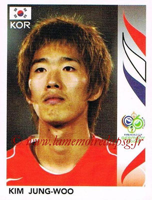 2006 - Panini FIFA World Cup Germany Stickers - N° 504 - Kim JUNG-WOO (Corée du Sud)