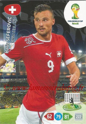 2014 - Panini FIFA World Cup Brazil Adrenalyn XL - N° 302 - Haris SEFEROVIC (Suisse)