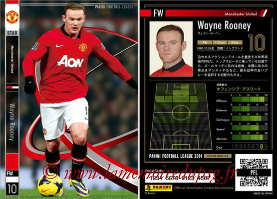Panini Football League 2014 - PFL08 - N° 060 - Wayne ROONEY (Manchester United) (Star)