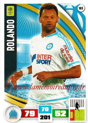 2016-17 - Panini Adrenalyn XL Ligue 1 - N° 165 - ROLANDO(Marseille)