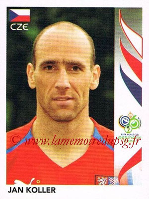 2006 - Panini FIFA World Cup Germany Stickers - N° 376 - Jan KOLLER (République Tchèque)