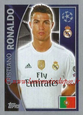 2015-16 - Topps UEFA Champions League Stickers - N° 043 - Cristiano RONALDO (Real Madrid CF)
