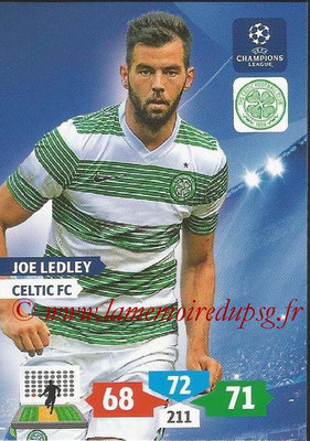 2013-14 - Adrenalyn XL champions League N° 114 - Joe LEDLEY (Celtic FC)