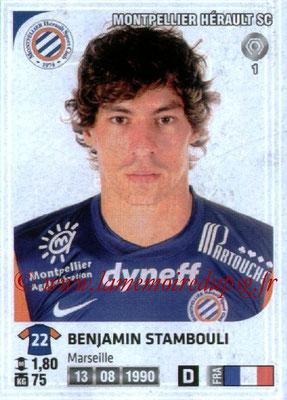 N° 228 - Benjamin STAMBOULI (2012-13, Montpellier > 2015-??, PSG)