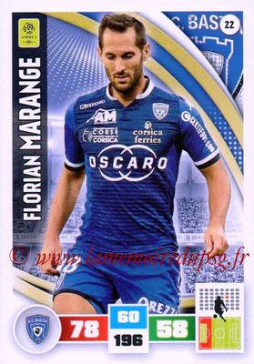 2016-17 - Panini Adrenalyn XL Ligue 1 - N° 022 - Florian MARANGE (Bastia)