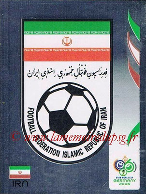 2006 - Panini FIFA World Cup Germany Stickers - N° 264 - Logo Iran