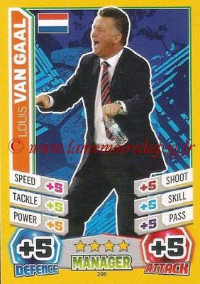 Topps Match Attax England 2014 - N° 296 - Louis VAN GAAL (Entraîneur Pays-Bas)