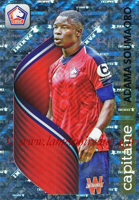 2018-19 - Panini Ligue 1 Stickers - N° 172 - Adama SOUMAORO (Lille) (Capitaine)