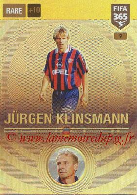 2016-17 - Panini Adrenalyn XL FIFA 365 - N° 009 - Jürgen KLINSMANN (FC Bayern Munich) (Legend)