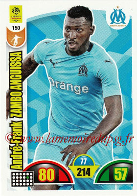 2018-19 - Panini Adrenalyn XL Ligue 1 - N° 150 - André-Frank ZAMBO ANGUISSA (Marseille)