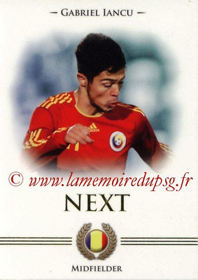 2014 - Futera World Football Unique - N° 093 - Gabriel IANCU (Midfielder) (Next)