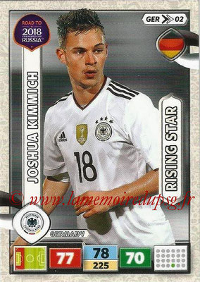 2018 - Panini Road to FIFA World Cup Russia Adrenalyn XL - N° GER02 - Joshua KIMICH (Allemagne) (Rising Star)