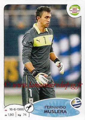 2014 - Panini Road to FIFA World Cup Brazil Stickers - N° 073 - Fernando MUSLERA (Uruguay)