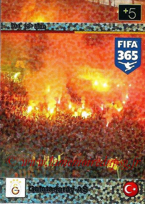 2015-16 - Panini Adrenalyn XL FIFA 365 - N° 304 - Galatasaray AS (12th Man)