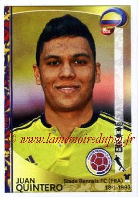 Panini Copa America Centenario USA 2016 Stickers - N° 057 - Juan QUINTERO (Colombie)