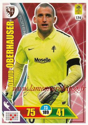 2017-18 - Panini Adrenalyn XL Ligue 1 - N° 174 - David OBERHAUSER (Metz)