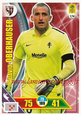 2017-18 - Panini Adrenalyn XL Ligue 1 - N° 174 - David OBERHAUSER (Metz)