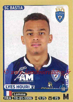 2015-16 - Panini Ligue 1 Stickers - N° 064 - Lyes HOURI (SC Bastia)