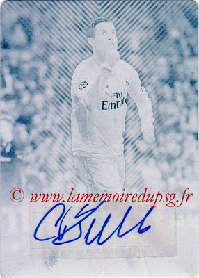 2015-16 - Topps UEFA Champions League Showcase Soccer - N° CLA-CR - Cristiano RONALDO (Real Madrid CF) (Base Autographs Cards)