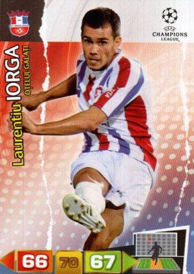 2011-12 - Panini Champions League Cards - N° 208 - Laurentiu IORGA (FC Otelul Galati)