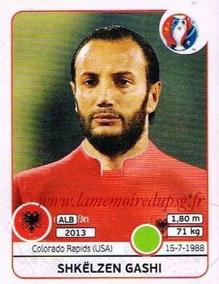 Panini Euro 2016 Stickers - N° 085 - Shkelzen GASHI (Albanie)