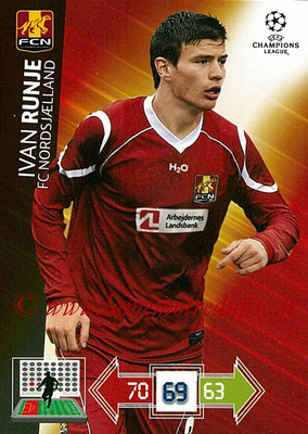 2012-13 - Adrenalyn XL champions League N° 175 - Ivan RUNGE (FC Nordsjaelland)