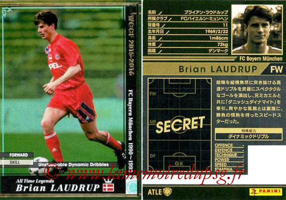 2015-16 - Panini WCCF - N° ATLE07 - Brian LAUDRUP (FC Bayern Munich) (All Time Legends)
