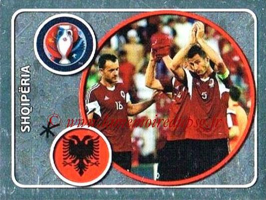 Panini Euro 2016 Stickers - N° 013 - Équipe d'Albanie