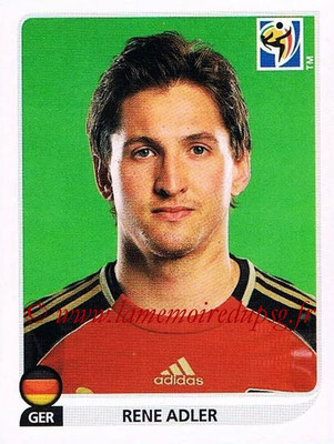 2010 - Panini FIFA World Cup South Africa Stickers - N° 260 - Rene ADLER (Allemagne)