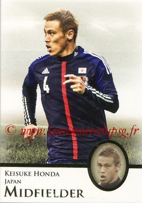 2013 - Futera World Football Unique - N° 040 - Keisuke HONDA (Japon) (Midfielder)