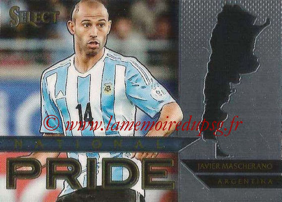 2015 - Panini Select Soccer - N° NP01 - Javier MASCHERANO (Argentine) (National Pride)