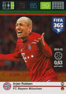 2015-16 - Panini Adrenalyn XL FIFA 365 - N° 166 - Arjen ROBBEN (FC Bayern Munich) (Goal Machine)