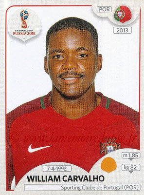 2018 - Panini FIFA World Cup Russia Stickers - N° 124 - William CARVALHO (Portugal)