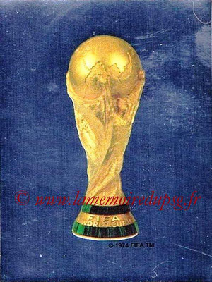 2006 - Panini FIFA World Cup Germany Stickers - N° 001 - Trophée FIFA World Cup